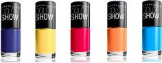 Maybelline New York's Color Show nail polishes. Love this, super cheap and has crackle colors