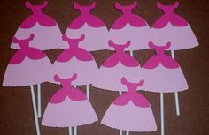 Sleeping Beauty Cupcake Toppers  Disney Princess Party Decorations
