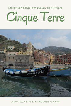 Cinque Terre ist für mich eine der schönsten Küstenregionen Italiens, vermutlich sogar in ganz Europa. Fünf malerische Dörfer schmiegen sich zwischen Levanto und La Spezia an die zerklüftete Küste, verbunden durch eine spektakuläre Küstenstraße, eine Zugstrecke und einen wunderschönen Wanderweg. Nicht umsonst gehört das Cinque Terre schon seit 1997 zum Welterbe der UNESCO.