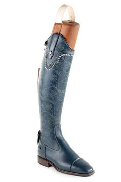 These floral DeNiro boots are amazing. Contact us to order your own custom pair at StyleMyRide.net #stylemyride #fashion #equestrian Barn Boots, Horse Riding Boots, Riding Gear, Riding Helmets, Shoe Boots, Rider Boots, Women's Shoes, Equestrian Boots, Equestrian Outfits