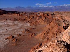 Valle de la Luna, San Pedro de Atacama. Foto de José Alejandro Echeverría.