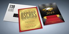 Night at the Oscars 8th Grade Invite/Envelope Designed & Printed by AlphaGraphics Sugar Land