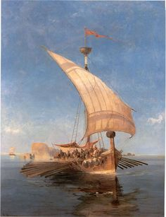 Greek galley Argonauts