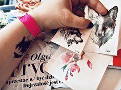 DZIARY Z ALIEXPRESS. - LYSAMOWI.PL  --- TATTOO, TATOO, ALIEXPRESS,FOREST, FOX, BEAR Fitbit Alta, Triangle, Fox, Bear, Knitting, Handmade, Tatoo, Hand Made, Tricot