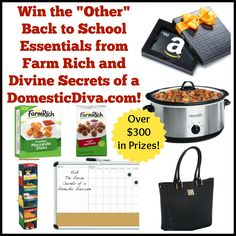 Back-to-school essentials giveaway with The Divine Secrets of a Domestic Diva! #backtoschool #contest #funstuff