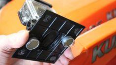 Make a DIY Magnetic Mount for GoPro Cameras