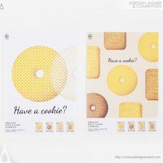 hiroaki igarashi on Behance Cookies Branding, Bakery Branding, Bakery Packaging, Bakery Logo Design, Branding Design, Branding Ideas, Dm Poster, Poster Layout, Posters
