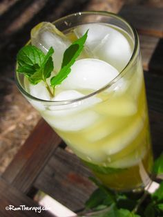 Green Tea Mojito. well that sounds delicious.