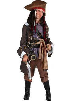 Child Realistic Caribbean Pirate Costume