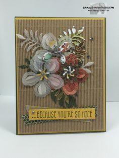Stampin' Up! Botanical Blooms Card