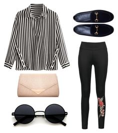 """""""Untitled #289"""" by aesthetic1queen on Polyvore featuring Gucci and Dorothy Perkins"""