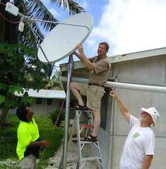 What is the best way to get off grid internet access