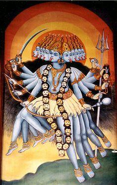 Apesar da aparência de malvada, Kali é muito mal compreendida pelas pessoas. Ela mostra o lado escuro da mulher ou do transgênero e a verdadeira força feminina. Kali é venerada na Índia como uma mãe pelos seus devotos e devotas que esperam dela uma morte sem dor ou aflitos.