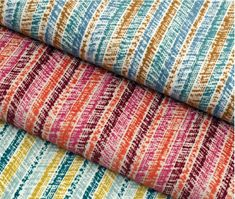 A variegated stripe with a slanted point of view. TIlt's chenille yarns lean upon a crisp ivory backdrop allowing the vibrant hues to shine. Available in nine edgy color combinations. #HeinsMarketing #crypton #cryptondfabrics #burchfabrics #sunbrella #sunbrellafabrics #sunbrellacontract #contractfabrics #commercialfabrics #hospitalityinteriors #interiors #hospitalitydesign #design #contractfurniture #hospitalityfurniture Contract Furniture, Hospitality Design, Tilt, Yarns, Color Combinations, Crisp, Backdrops, Vibrant