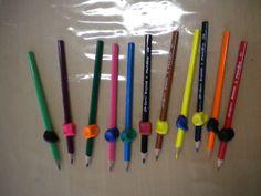 Ondersteunend materiaal voor een juiste pengreep