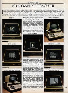 Commodore PET article in Feb 1978 Playboy