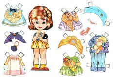 Pige 2 - Isabel Lopez - Álbumes web de Picasa Paper Art, Paper Crafts, Vintage Paper Dolls, Doll Head, Child Love, Sweet Memories, Paper Toys, Kids Education, Beautiful Dolls