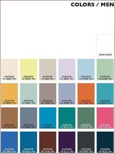 tendência de cores verão 2015 homens