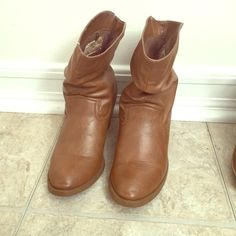 Cowboy boots Worn a few times. Very comfortable boots. And easy to pair with any outfits. Aeropostale Shoes Ankle Boots & Booties