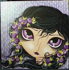 acrylics 12x12 canvas see my available artwork at www.facebook.com/meganksuarezfineart