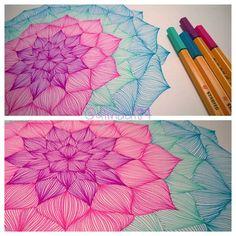 #stabilopoint88#zentangle#stabilo#doodles#doodling#tangleart#sketches#instadraw#freehand#tangle#instadrawing#mandala#mandalaart#zendala #mandalamaze#heArtTangles#PotPourriofartists#talentedpeopleinc#flower#learnzentangle by glinda184