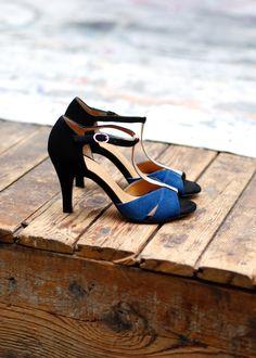 Salomés noires et bleues, Sézane