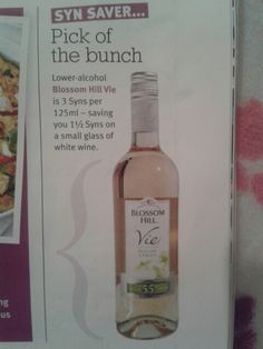 Slimming world wine