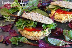 God mad og søde sager: Sandwichboller - uden mel