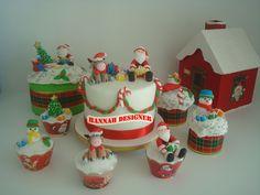 Cupcakes, Mini Panetones, Panetone, Bolo Decorado