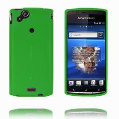 Soft Shell (Grøn) Sony Ericsson Xperia Arc Cover