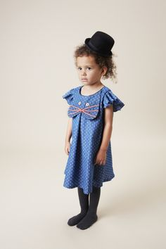 With a wide array of shoes, clothes, & accessories, we can dress your baby girl from head to toe. Find designer baby clothes for any occasion at Fawn Shoppe. Cat Dresses, Baby Girl Dresses, Baby Dress, Blue Dresses, Dress Outfits, Little Girl Outfits, Kids Outfits, Cute Outfits, Wolf Kids