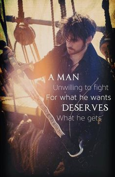 ⚠ Spoil ⚠ Colin O'Donoghue - Killian Jones - Captain Hook - Once Upon A Time Once Upon A Time, Killian Jones, Colin O'donoghue, Time Quotes, Ouat Quotes, Hook Movie Quotes, Hook Ouat, Killian Hook, Captian Hook