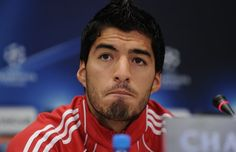 FWA Footballer of the Year: Luis Suarez ~~ Read the story: http://sportyghost.com/fwa-footballer-of-the-year-luis-suarez/