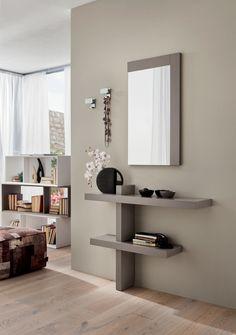 Perchero de pared en metal, modelo 2505 (código D) Hallway Shelving, Hallway Console, Hallway Furniture, Wall Shelves, Entryway Decor, Entryway Hooks, Office Furniture, Living Room Decor, Bedroom Decor