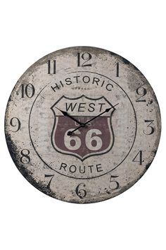 Route 66 clock, and man does it look great!