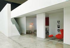 Loft contemporaneo a Bologna in un'ex fabbrica | design per Marco Costanzi