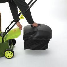 Buy New: $125.04 : Sun Joe MJ401E Mow Joe 14-Inch 12 Amp #Electric #Lawn #Mower With Grass Bag