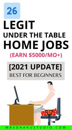 Best under the table jobs to work from home. Her's a list of under the table jobs that pay cash (you can find on Craigslist and other places) Work From Home Options, Work From Home Jobs, Make Money From Home, Way To Make Money, Under The Table Jobs, Babysitting Jobs, Earn Money Online Fast, Student Jobs, Online Jobs From Home