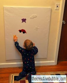 The Creative Bubble: How to Make a Felt Board