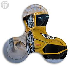 Fidget Spinner Lamborghini Stress Reducer Relief Toys Perfect For ADHD EDC ADD Anxiety Autism And Boredom Melancholy Mental Pressure - Fidget spinner (*Amazon Partner-Link)