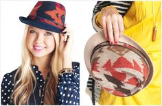 Aztec Fedora Hats Healthy Weight, Aztec, Cap, My Style, Fedora Hats, Women, Accessories, Jewelry, Fashion