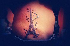Eiffel Tower tattoo 巴黎鐵塔紋身