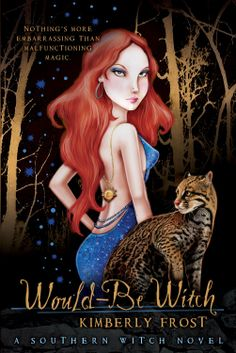 Review: WOULD-BE WITCH by Kimberly Frost (Book 1 of the Southern Witch series) http://www.cherrymischievous.com/2014/05/review-would-be-witch.html