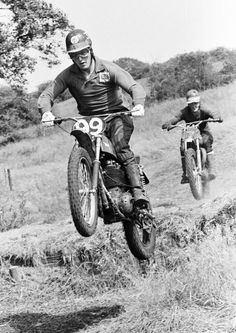 Ruminations on the trials and motocross scene - 1950 to 1980 (Main photo Copyright Brian. Enduro Motocross, Motorcycle Racers, Motocross Racing, Mx Racing, Off Road Racing, Old Scool, Vintage Motocross, Underwear Brands, Old Bikes