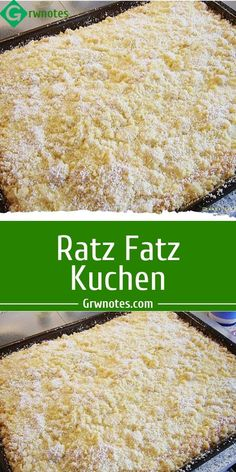Food, Pies, Powdered Sugar, Sheet Cakes, Essen, Yemek, Meals