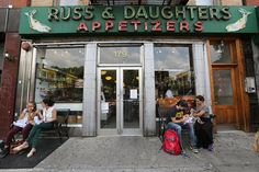 Russ & Daughters on Houston