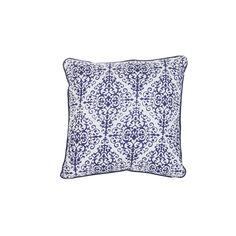 Leroy Merlin Almofada decorativa KAMARIA AZUL Ref.16957276 12,€99 Características: Medidas: 40X40 cm Composição: 100% algodão