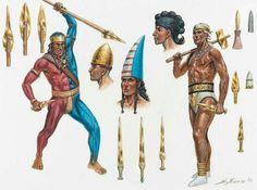 - Guerreros del Bronce Antiguo en las Cicladas . lll milenio a.C. /tcc/