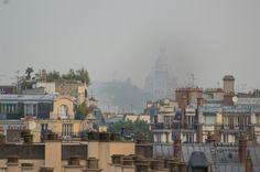 Rooftop sunrise in Paris
