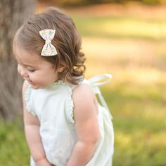 Little Bow, Little Girls, Handmade Hair Bows, Girls Bows, Baby Girl Newborn, My Girl, Headbands, Celebrities, Babies
